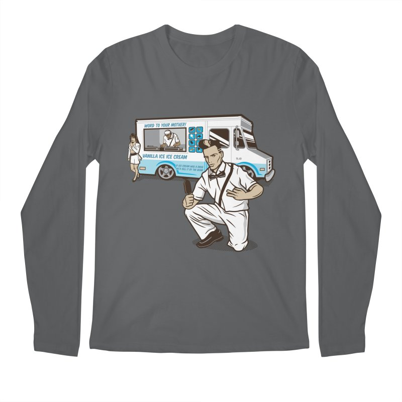 Vanilla Ice Cream Man Men's Longsleeve T-Shirt by Ben Douglass