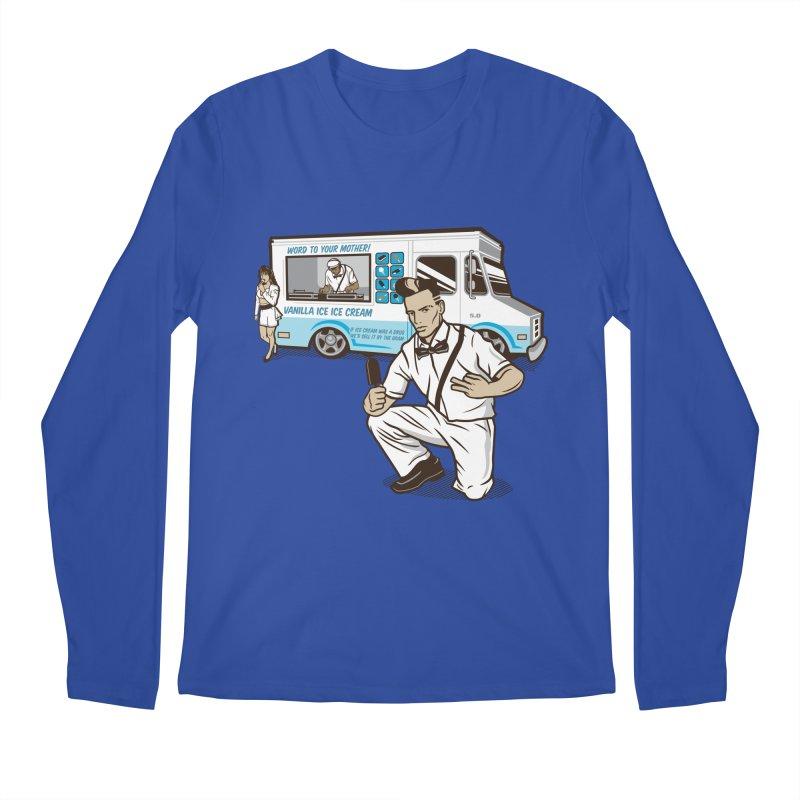 Vanilla Ice Cream Man Men's Regular Longsleeve T-Shirt by Ben Douglass