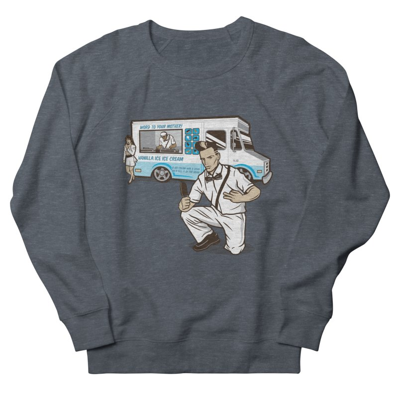 Vanilla Ice Cream Man Men's French Terry Sweatshirt by Ben Douglass