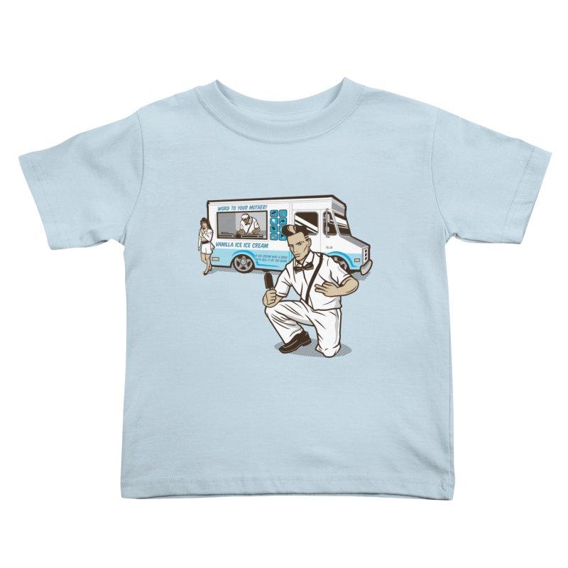 Vanilla Ice Cream Man Kids Toddler T-Shirt by Ben Douglass