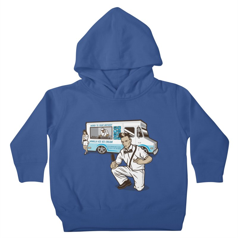 Vanilla Ice Cream Man Kids Toddler Pullover Hoody by Ben Douglass