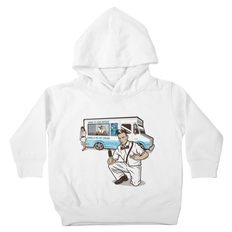 Vanilla Ice Cream Man Kids Toddler Pullover Hoody by Ben Douglass