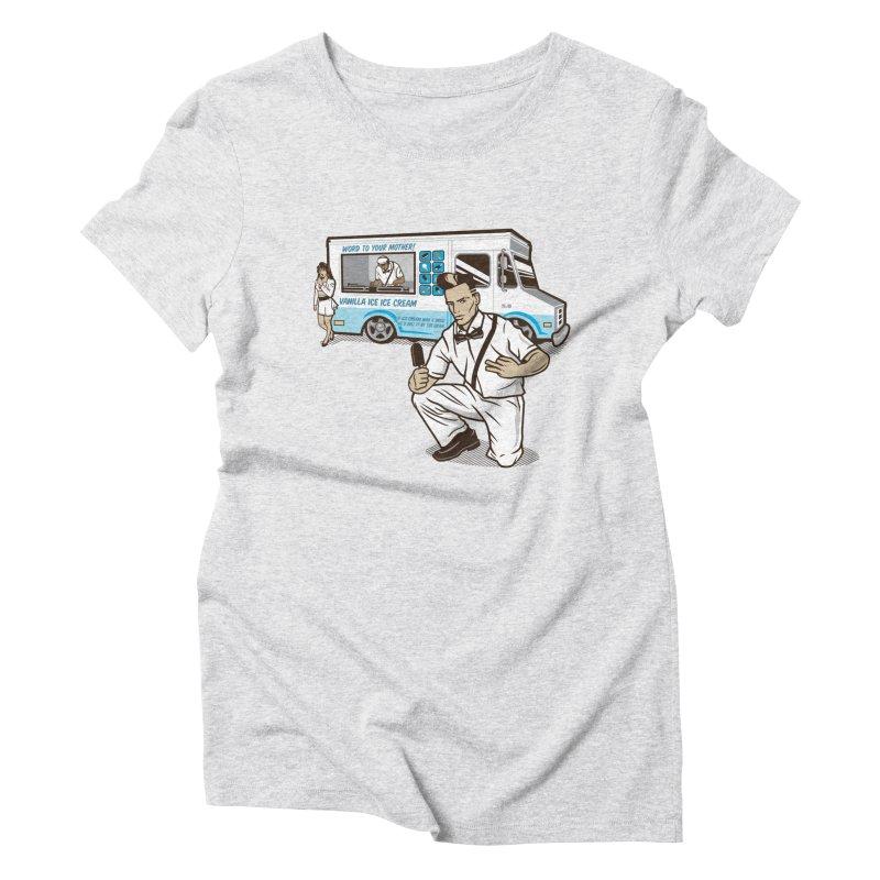 Vanilla Ice Cream Man Women's T-Shirt by Ben Douglass
