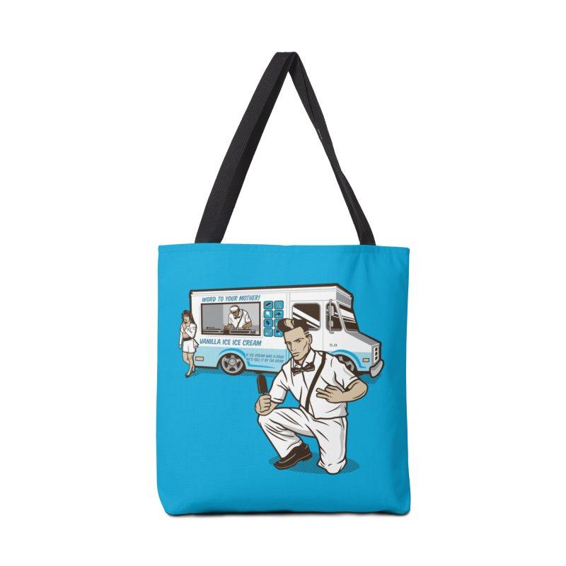 Vanilla Ice Cream Man Accessories Bag by Ben Douglass