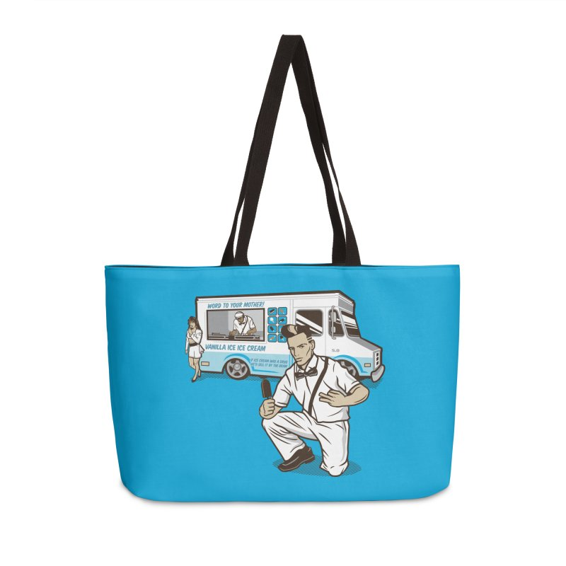 Vanilla Ice Cream Man Accessories Weekender Bag Bag by Ben Douglass