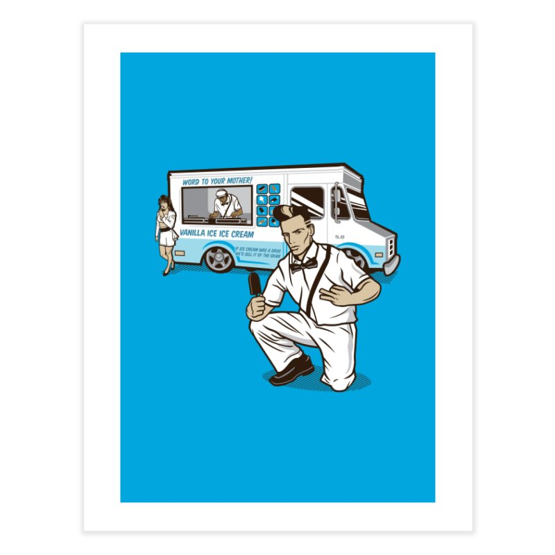 Vanilla Ice Cream Man Home Fine Art Print by Ben Douglass
