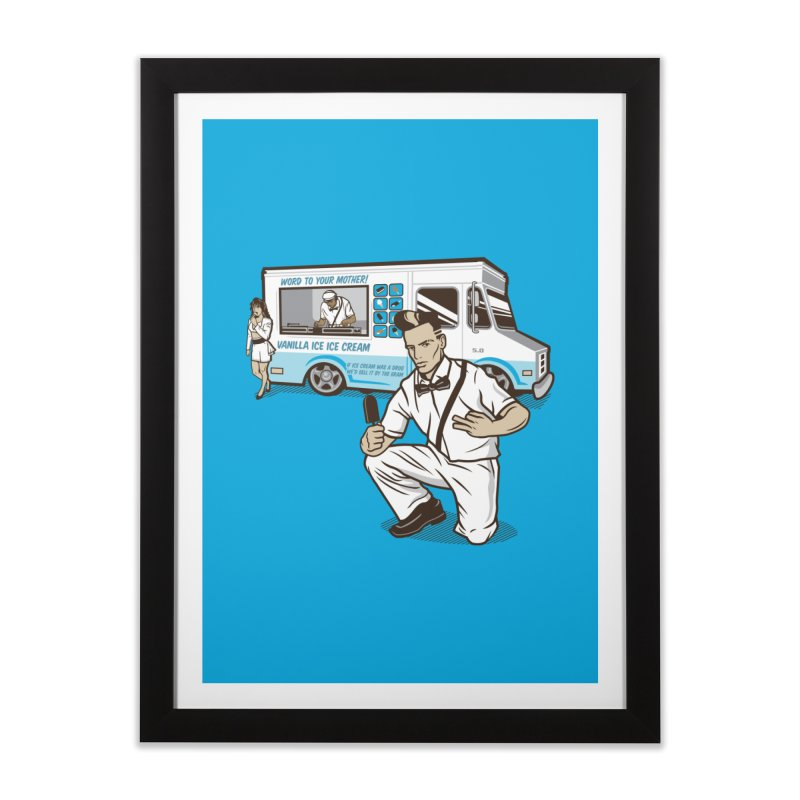 Vanilla Ice Cream Man Home Framed Fine Art Print by Ben Douglass