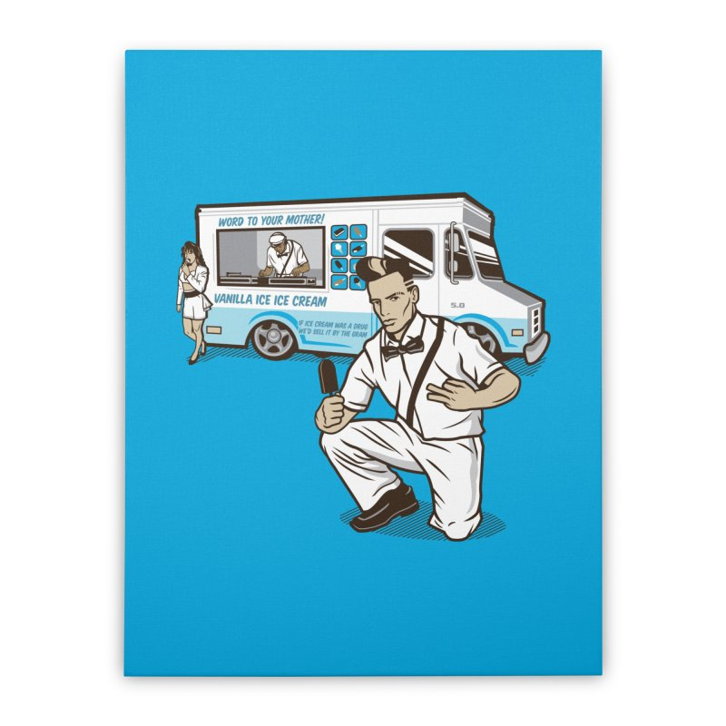 Vanilla Ice Cream Man Home Stretched Canvas by Ben Douglass
