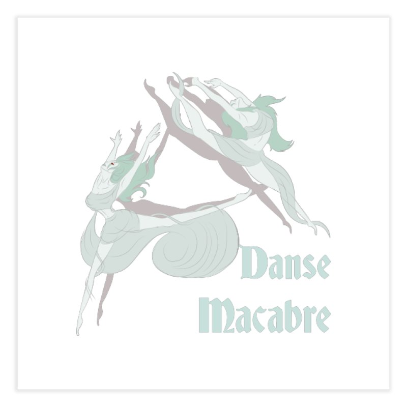 Danse Macabre Banshees Home Fine Art Print by Beneath Ribbons