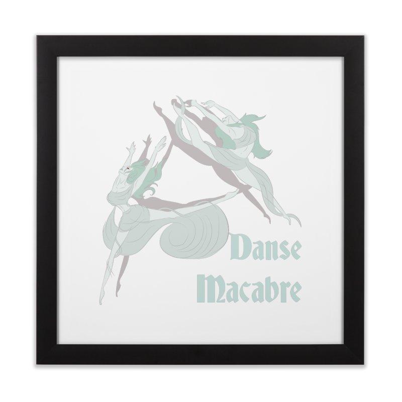 Danse Macabre Banshees Home Framed Fine Art Print by Beneath Ribbons