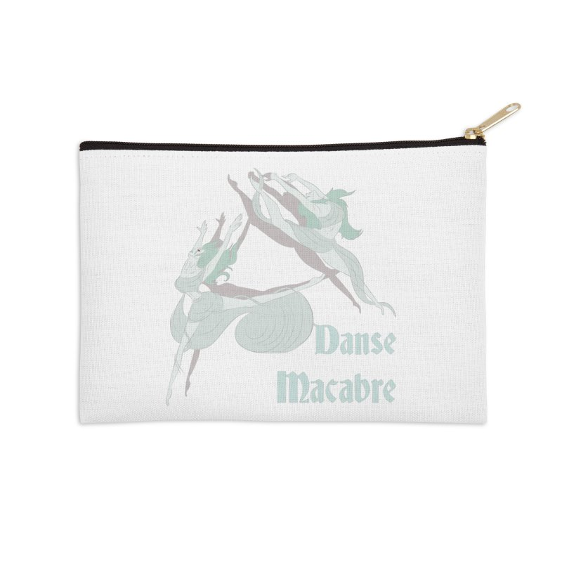 Danse Macabre Banshees Accessories Zip Pouch by Beneath Ribbons