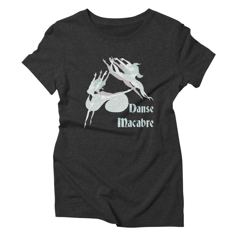 Danse Macabre Banshees Women's Triblend T-shirt by Beneath Ribbons