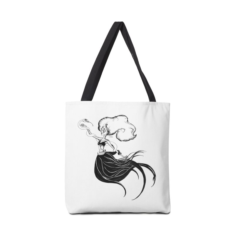 Clown Serpant  Accessories Bag by Beneath Ribbons
