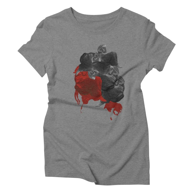Paper Skin Women's Triblend T-shirt by Beneath Ribbons