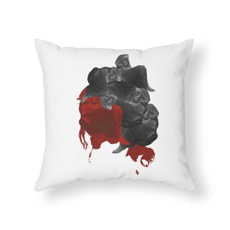 Paper Skin Home Throw Pillow by Beneath Ribbons