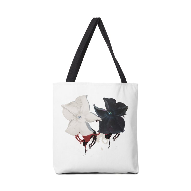 Eyes of Floriation Accessories Bag by Beneath Ribbons