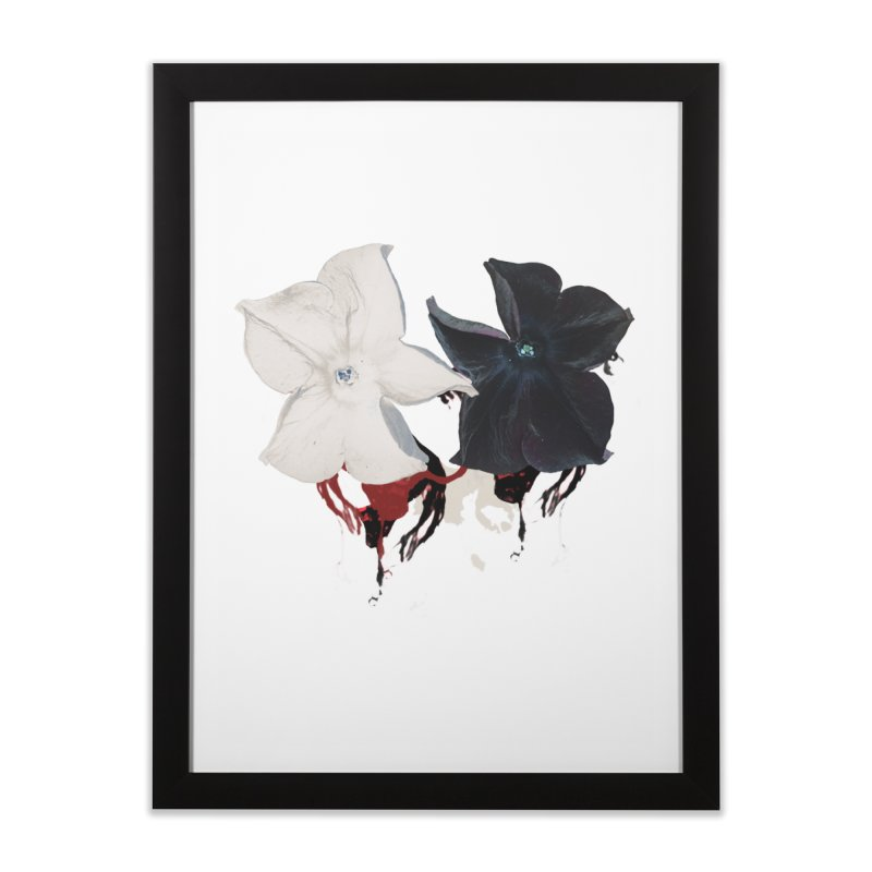 Eyes of Floriation Home Framed Fine Art Print by Beneath Ribbons