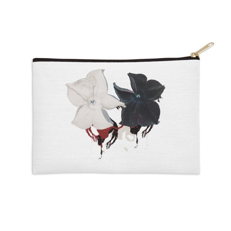 Eyes of Floriation Accessories Zip Pouch by Beneath Ribbons