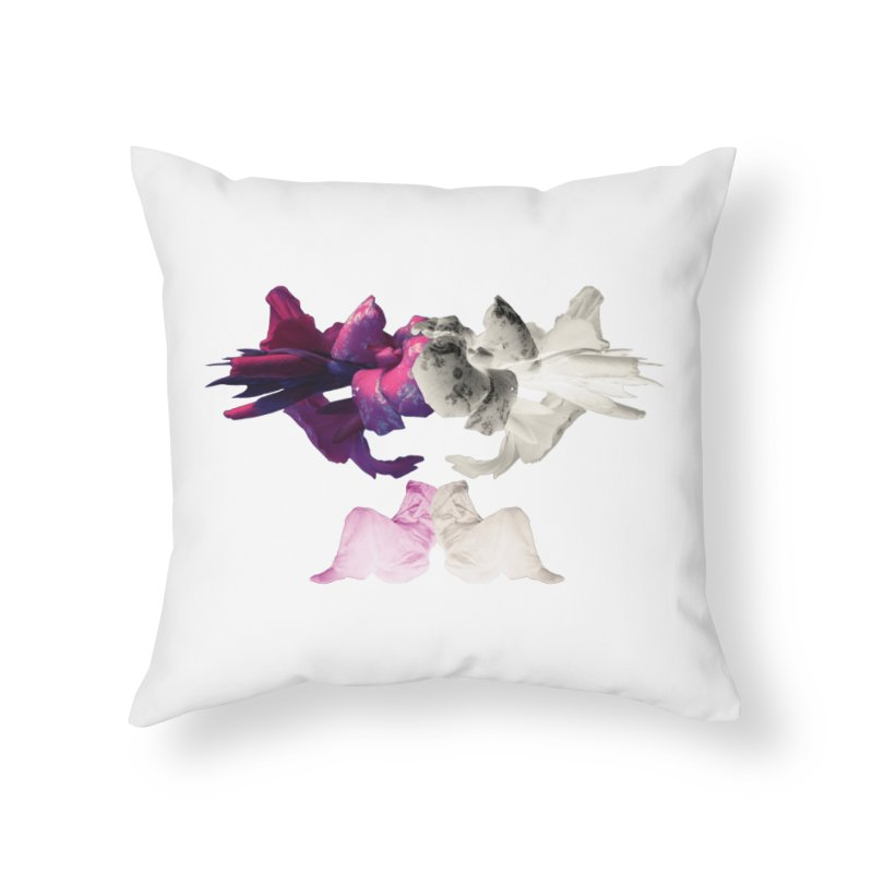 Violet Hour  Home Throw Pillow by Beneath Ribbons