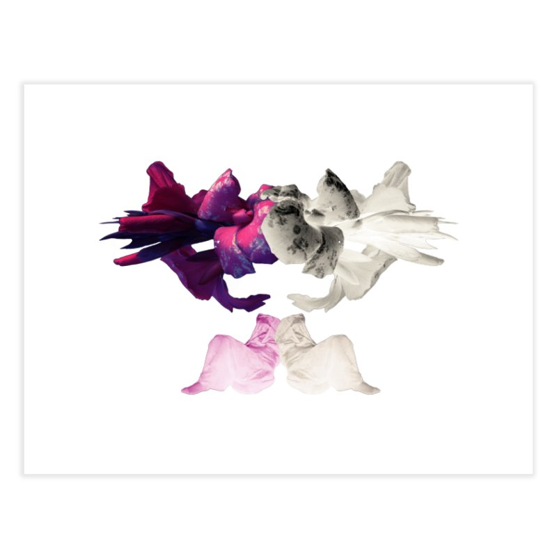 Violet Hour  Home Fine Art Print by Beneath Ribbons