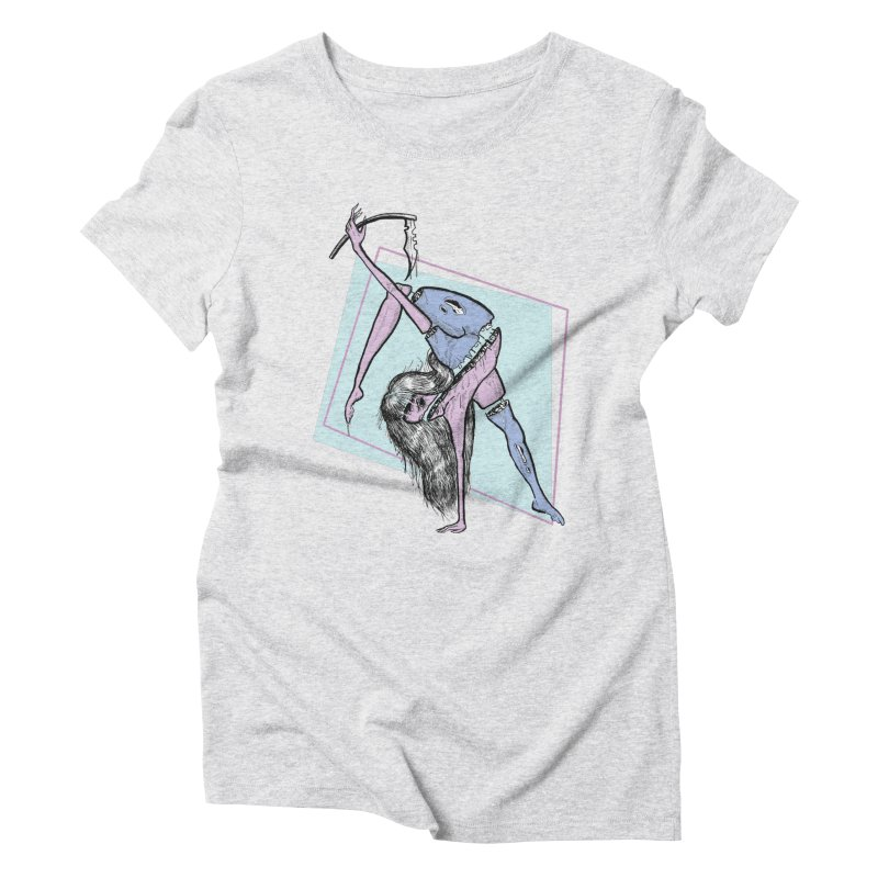 Split Personality Women's Triblend T-shirt by Beneath Ribbons
