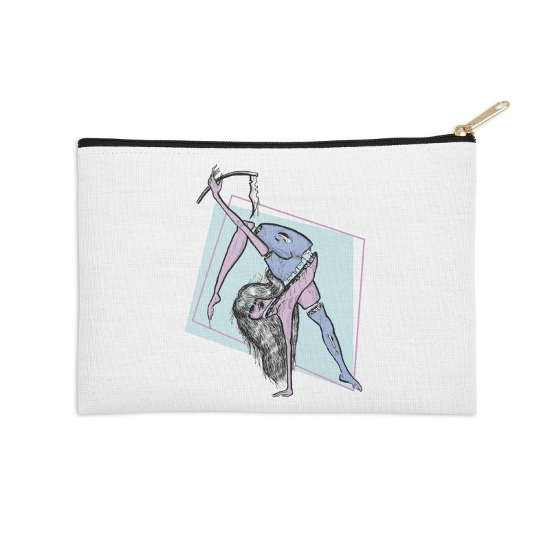 Split Personality Accessories Zip Pouch by Beneath Ribbons