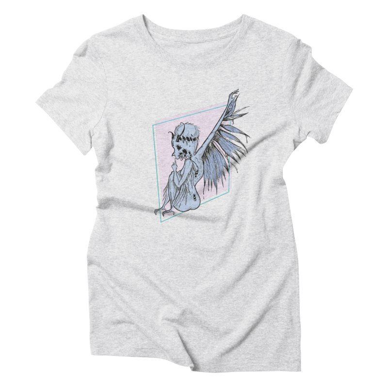 Broken Spirit Women's Triblend T-Shirt by Beneath Ribbons