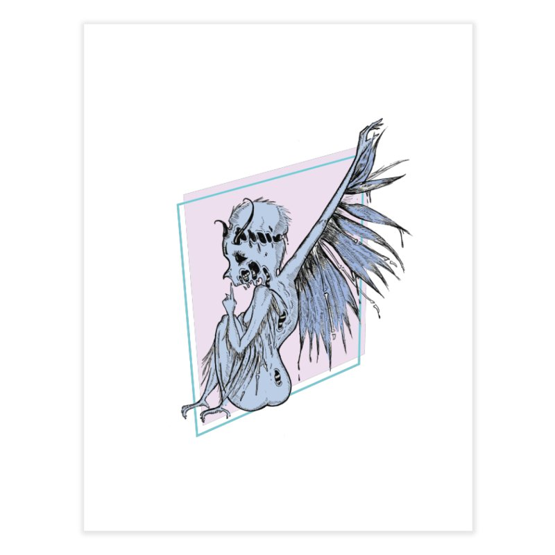 Broken Spirit Home Fine Art Print by Beneath Ribbons