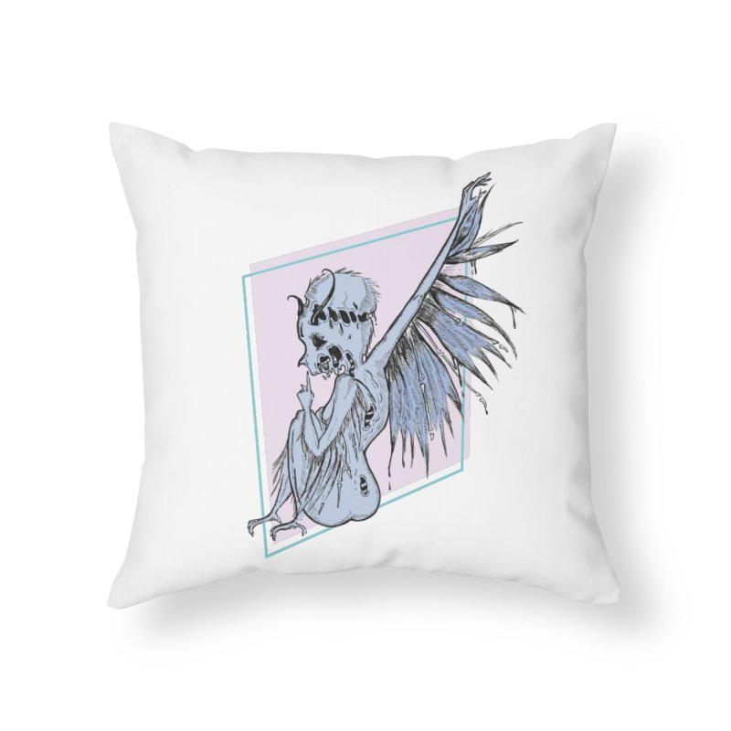 Broken Spirit Home Throw Pillow by Beneath Ribbons