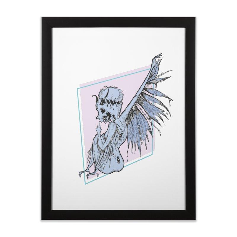 Broken Spirit Home Framed Fine Art Print by Beneath Ribbons