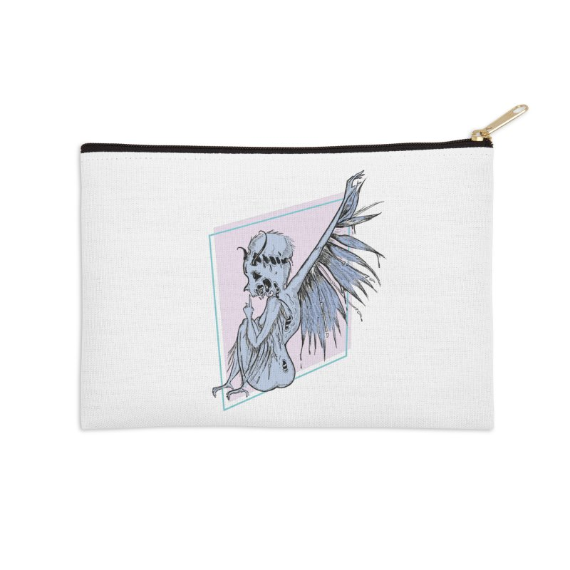 Broken Spirit Accessories Zip Pouch by Beneath Ribbons