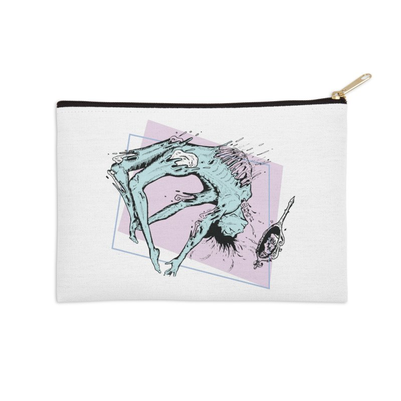 Spilled Skin Accessories Zip Pouch by Beneath Ribbons