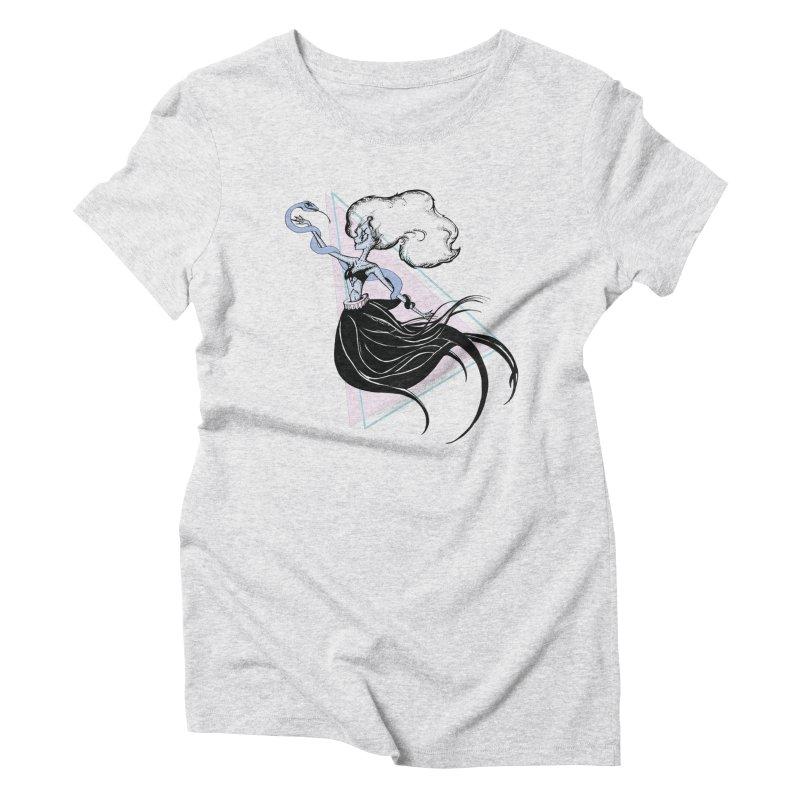 Serpentress Women's Triblend T-Shirt by Beneath Ribbons