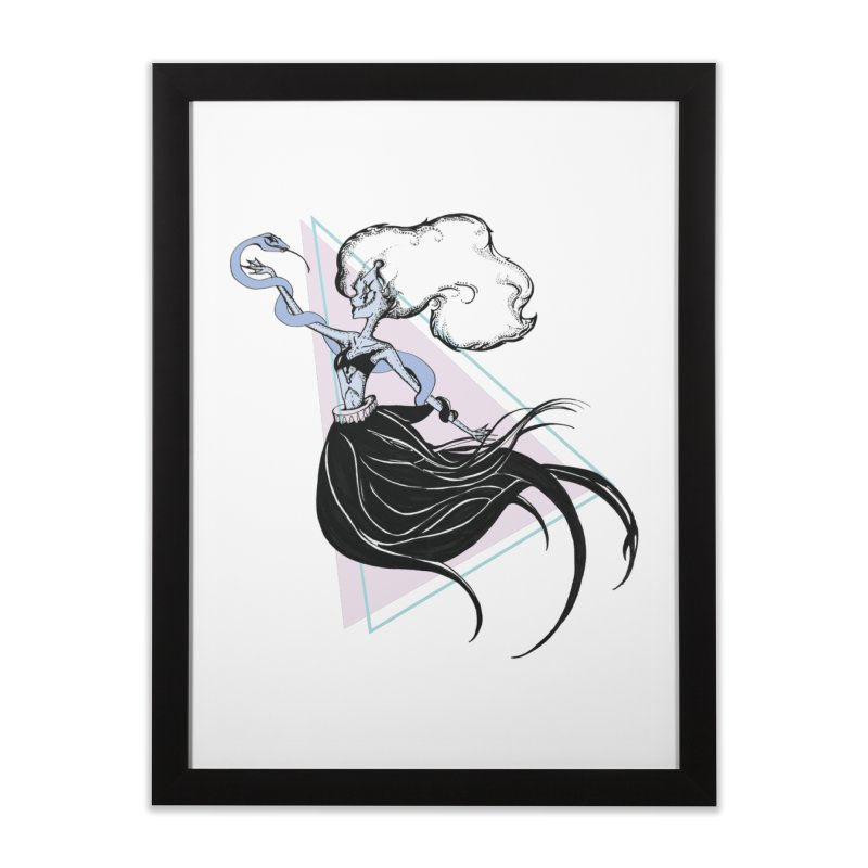 Serpentress Home Framed Fine Art Print by Beneath Ribbons