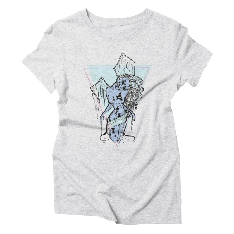 Dying Beauty Women's Triblend T-shirt by Beneath Ribbons