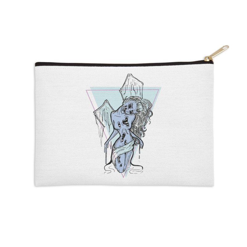 Dying Beauty Accessories Zip Pouch by Beneath Ribbons