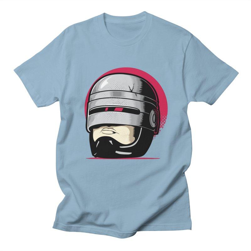 Robocop's Head Men's T-Shirt by benedictlarazo's Artist Shop