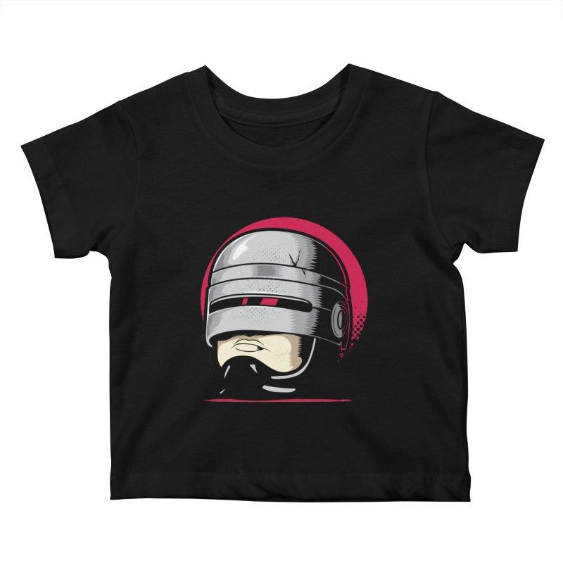 Robocop's Head Kids Baby T-Shirt by benedictlarazo's Artist Shop
