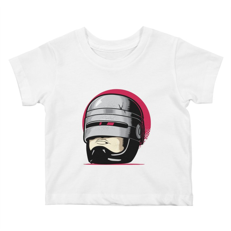 Robocop's Head Kids Baby T-Shirt by benedictlarazo's Artist Shop