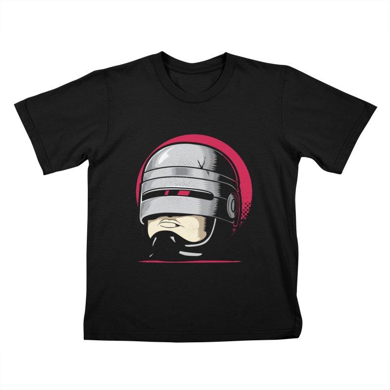 Robocop's Head Kids T-shirt by benedictlarazo's Artist Shop