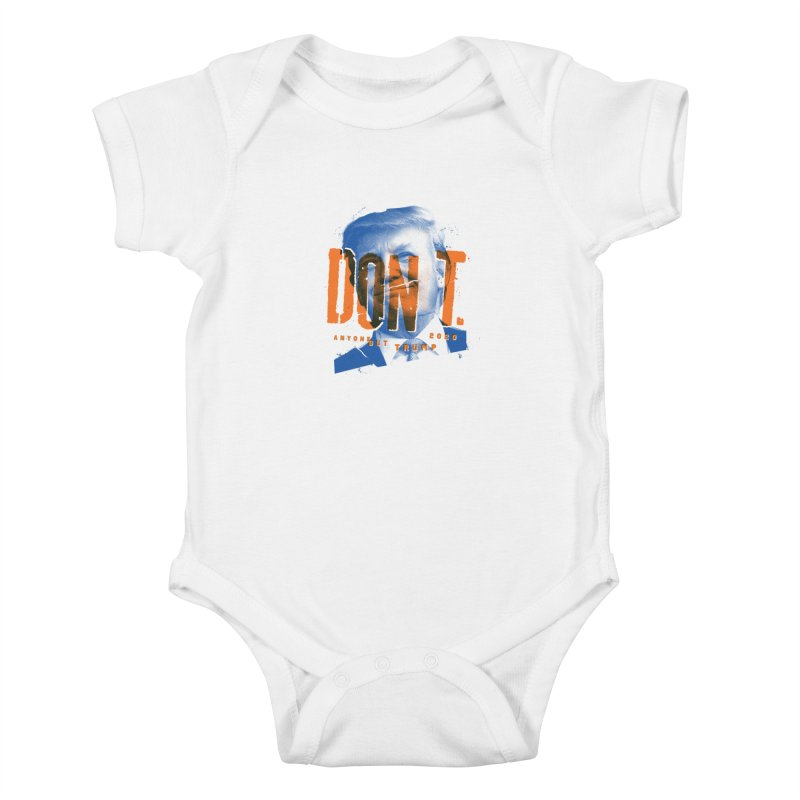 DON'T Kids Baby Bodysuit by Ben Harman Design