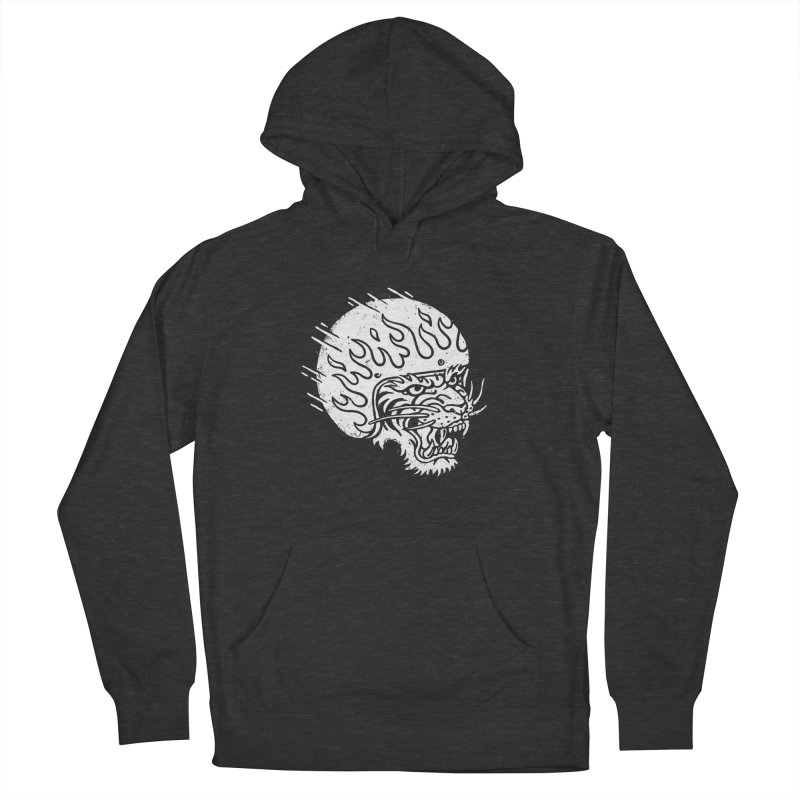 Speed Tiger Women's French Terry Pullover Hoody by Ben Harman Design