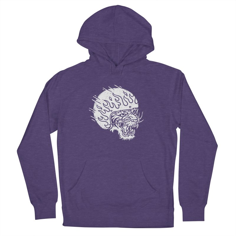 Speed Tiger Women's Pullover Hoody by Ben Harman Design