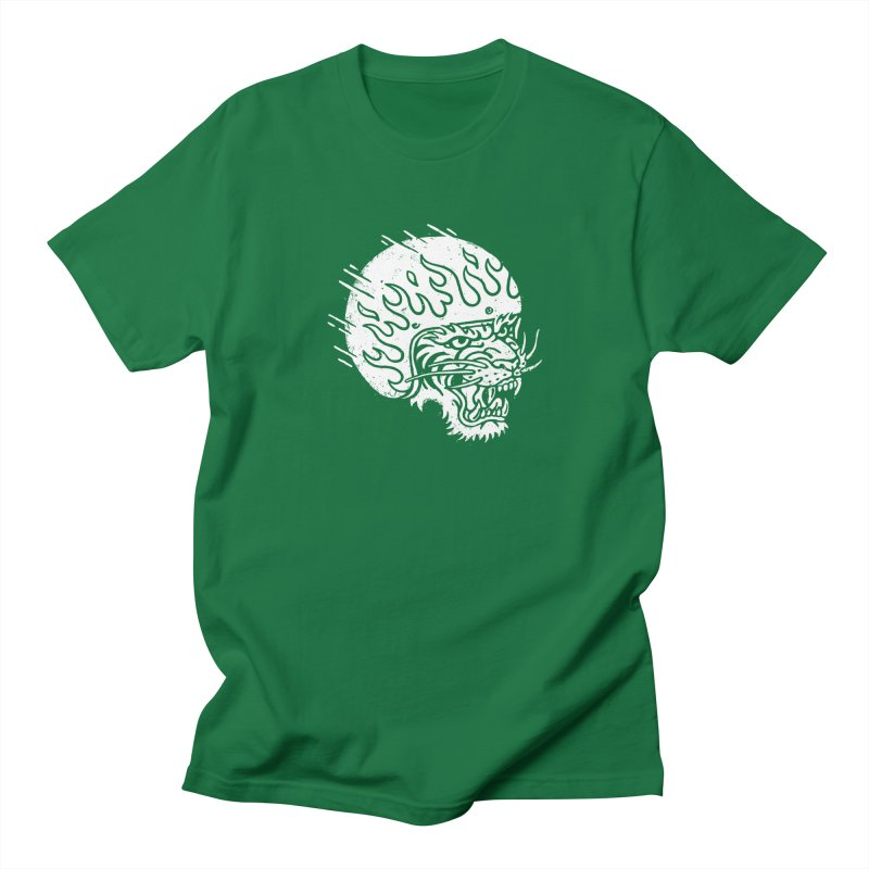 Speed Tiger Men's Regular T-Shirt by Ben Harman Design