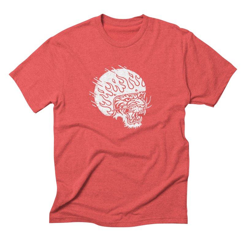 Speed Tiger Men's Triblend T-Shirt by Ben Harman Design