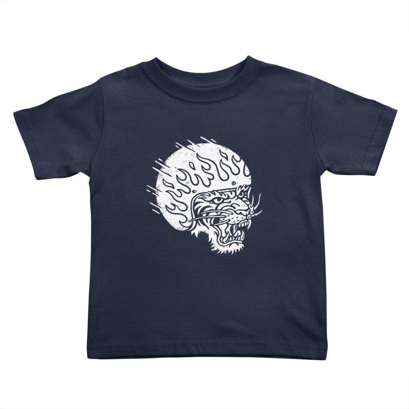 Speed Tiger Kids Toddler T-Shirt by Ben Harman Design