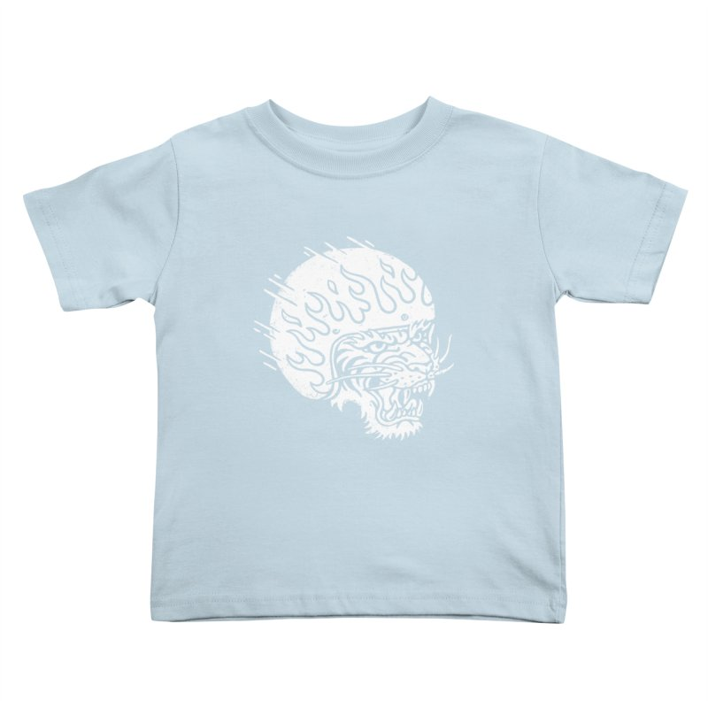 Speed Tiger Kids Toddler T-Shirt by Ben Harman Design