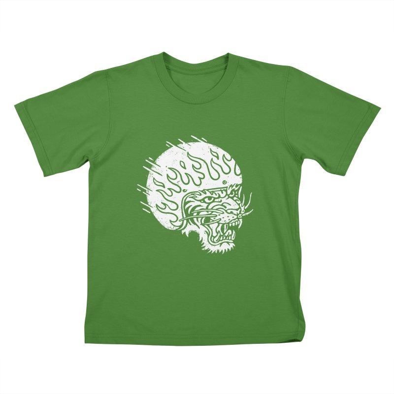 Speed Tiger Kids T-Shirt by Ben Harman Design