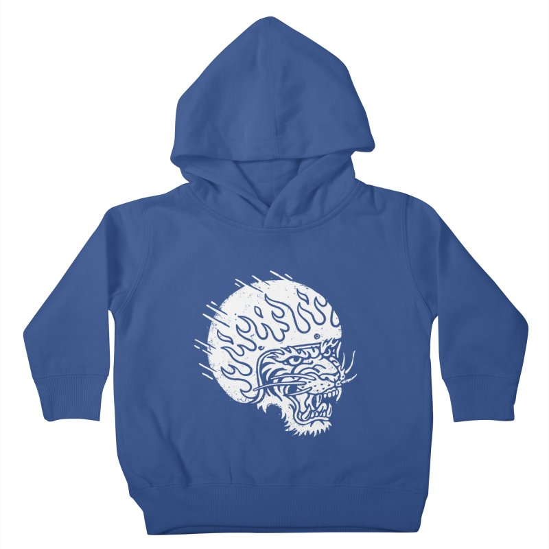 Speed Tiger Kids Toddler Pullover Hoody by Ben Harman Design