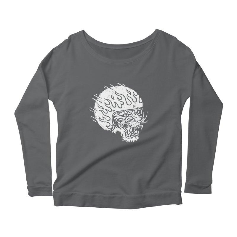 Speed Tiger Women's Scoop Neck Longsleeve T-Shirt by Ben Harman Design